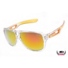 clear frame oakley sunglasses js8y  Cheap oakleys Dispatch II Clear frame fire iridium lens